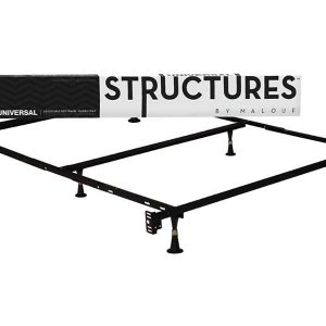 Full/Twin Size Metal Bed Frame